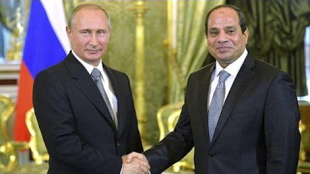 Rússia e Egito unidas contra o terrorismo